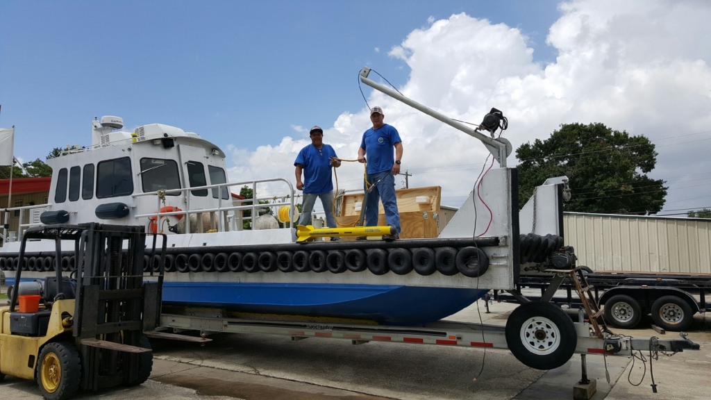 side scan sonar service Southeast Texas